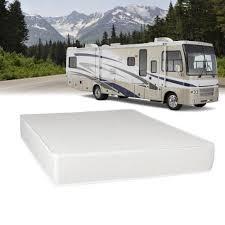 select luxury airflow flippable rv 8 inch queen short size foam