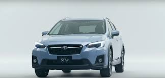 subaru crosstrek interior leather 2018 subaru xv official videos show crash test exterior and 360