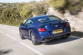 bentley supercar 2017 bentley continental supersports first drive review saving