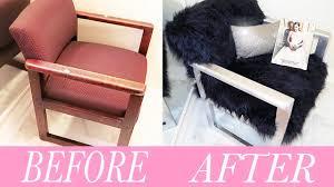 Diy Armchair Diy Fur Chair Youtube