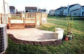 Deck With Patio by Deck And Patio Designs Awesome Best Small Patio Furniture Ideas