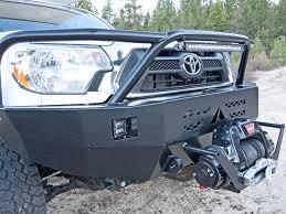 toyota tacoma front bumper guard toyota tacoma winch bumper 12 15 aluminess