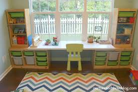 Ikea Kids Room Decor How To Create A Playroom Homework Area Ikea Hack And Playrooms