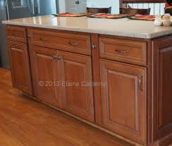 wolf classic cabinets hudson maple door heritage brown with