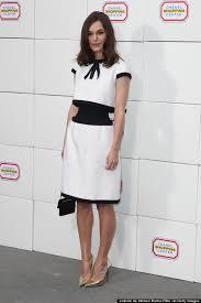 optical illusion dress keira knightley s chanel dress is an optical illusion and it s