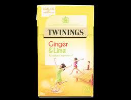 ginger u0026 lime 20 single tea bags fruit u0026 herbal