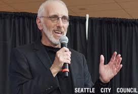 Seattle City Council member Nick Licata