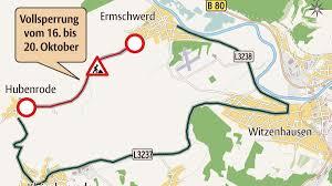 Wetter Bad Wildungen 16 Tage Landesstraße Zwischen Ermschwerd Und Hubenrode Ist Ab Montag