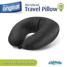 Ohio travel pillows images Cloudz microbead travel neck pillow black home jpg