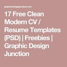 50 Best Resume Templates Design Graphic Design Junction by 11 Best Design Cv Images On Pinterest Best Cv Template Best