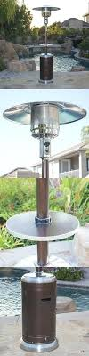 fire sense stainless steel patio heater with adjustable table table patio heaters patio heaters tall table top glass tube heater