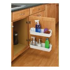 Under Sink Organizer Kitchen - rev a shelf kitchen under sink organizer cabinet door mount