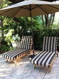 sunbrella berenson tuxedo stripe fabric is featured on these