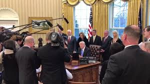 president trump signed some additional executive orders in the