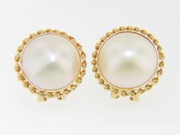 design of earrings gold timeless 14 75mm malbe pearl twist design stud earrings in