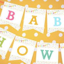sprinkle baby shower unisex sprinkle baby shower banner for a girl or boy