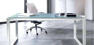 cadre photo bureau bureau avec plan de travail plan de travail verre translucide avec