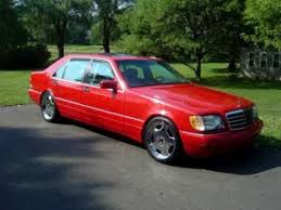 mercedes s500 amg for sale mercedes w140 s500 s class amg aero style 19 chrome wheels