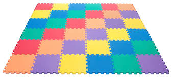 amazon com wonder mat non toxic non recycled extra thick rainbow