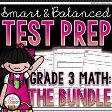 sbac math test prep 3rd grade printable practice for