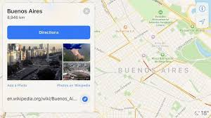 Maps Traffic Apple Maps Now Shows Traffic Conditions In Argentina Mac Rumors