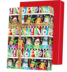 reversible christmas wrapping paper absolutely no peeking reversible gift wrap innisbrook wrapping
