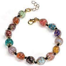 bracelet murano glass images Stauer cornaro murano glass bracelet 7 5 quot jewelry jpg