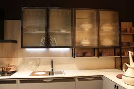glass door kitchen cabinet lighting cabinet led lighting puts the spotlight on the kitchen