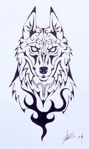 wolf by black wolf ink on deviantart