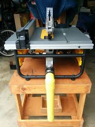 Custom Hand Made Dewalt Table Saw Dust Collector Carpentry