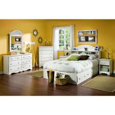 summer breeze bedroom set south shore summer breeze 4 piece white wash full bedroom set