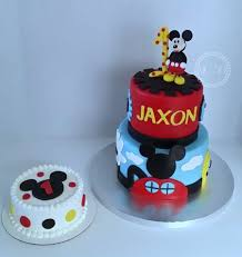 19 homemade mickey mouse cake ideas kara s party ideas