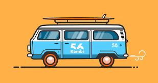 orange volkswagen van flat design volkswagen van tutorial share your work affinity