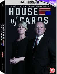 house of cards season 1 3 dvd amazon co uk kevin spacey