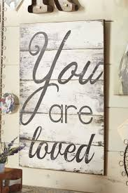Pier 1 Home Decor You Are Loved Wall Decor