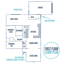 floor plan of our home white house black shutters