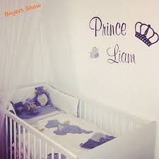 personalised wall stickers for kids home design ideas aliexpress com buy free shipping our little princess prince wall stickers for kids