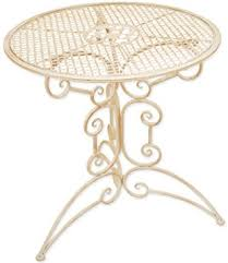round table woodside rd woodside small round outdoor metal coffee table garden furniture