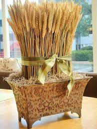 What Is A Decoration Decorating With Wheat