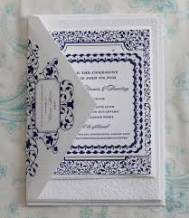 navy blue wedding invitations ornate navy white wedding invitations invitation crush