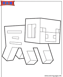 coloring pages minecraft pig minecraft pig coloring pages printable