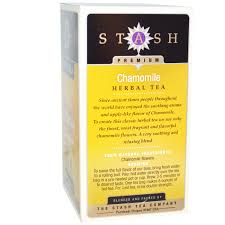 stash tea premium herbal tea chamomile caffeine free 20 tea