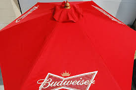 Budweiser Patio Umbrella Budweiser Patio Umbrella Budweiser Bowtie Logo Patio