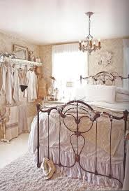bedroom cool chandelier design with wrought iron bed frames ideas