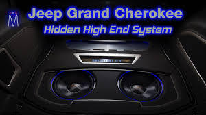 jeep grand cherokee custom 2015 2015 jeep grand cherokee summit hidden audiophile build