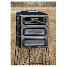 big game trophy box blind kit 592904 tower u0026 tripod stands at
