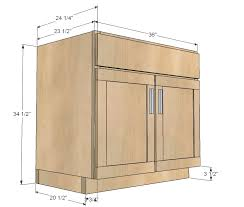 plans for building kitchen cabinets ana white kitchen cabinet sink base 36 full overlay face frame