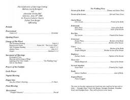 wedding ceremony bulletin catholic wedding program wedding photography