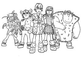 train dragon characters coloring pages train
