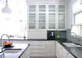 white cabinet glass door kitchen cabinets with glass doors kitchen